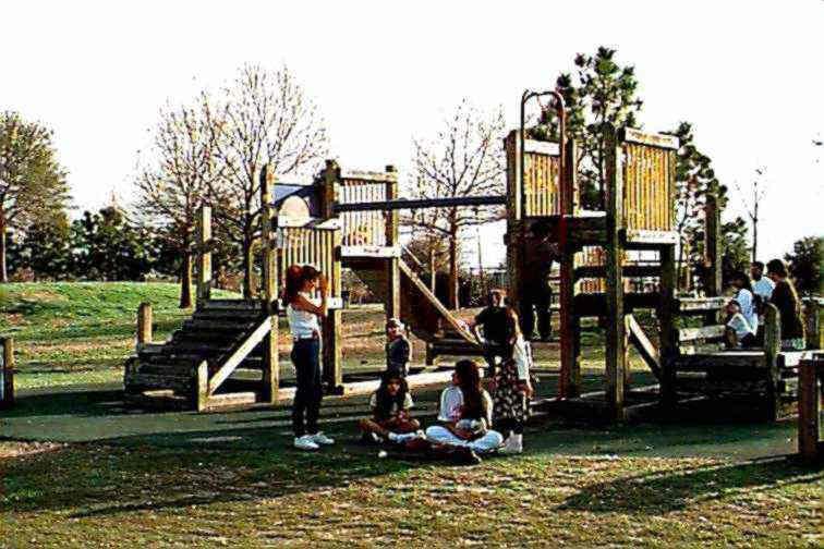 playground - Lafreniere Park Christmas Lights
